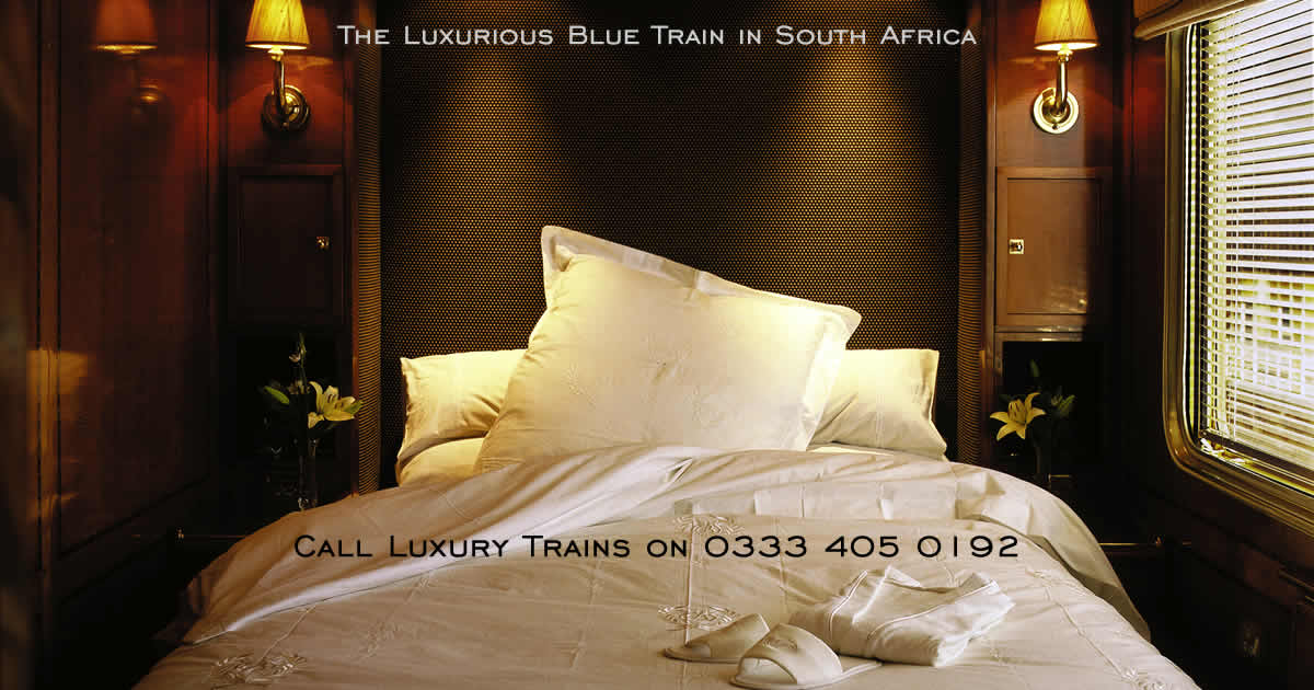 See South Africa in style on board the luxurious Blue Train