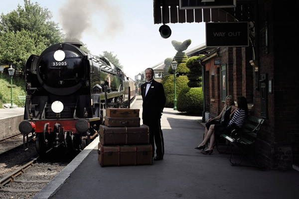 Relive a bygone age with luxurious steam travel on the Belmond British Pullman
