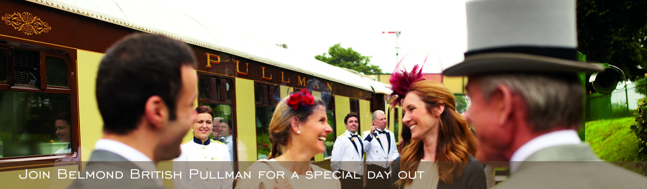 Join the Belmond British Pullman for a special day out
