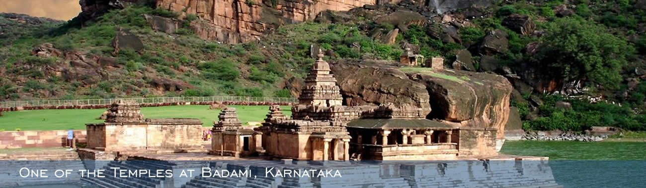 One of the Temples at Badami, Karnataka