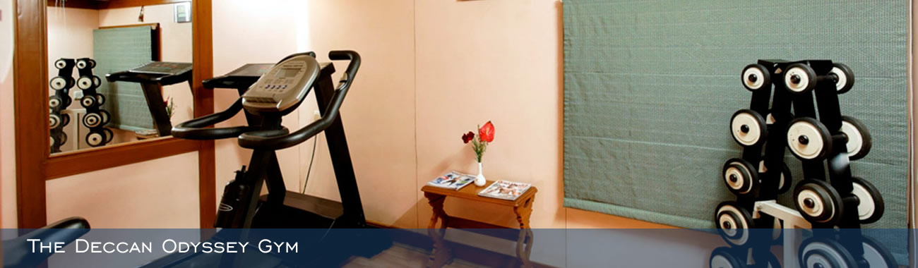 Stay fit on board in The Deccan Odyssey Gym