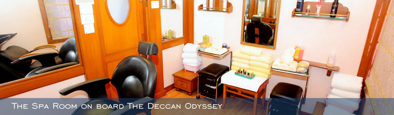 The Spa Room on board The Deccan Odyssey
