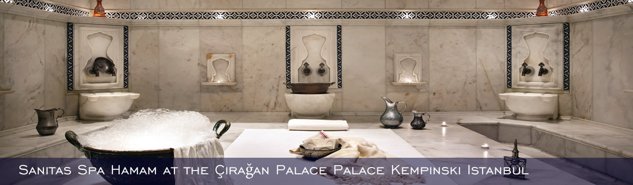 Sanitas Spa Hamam at the Çirağan Palace Kempinski Istanbul