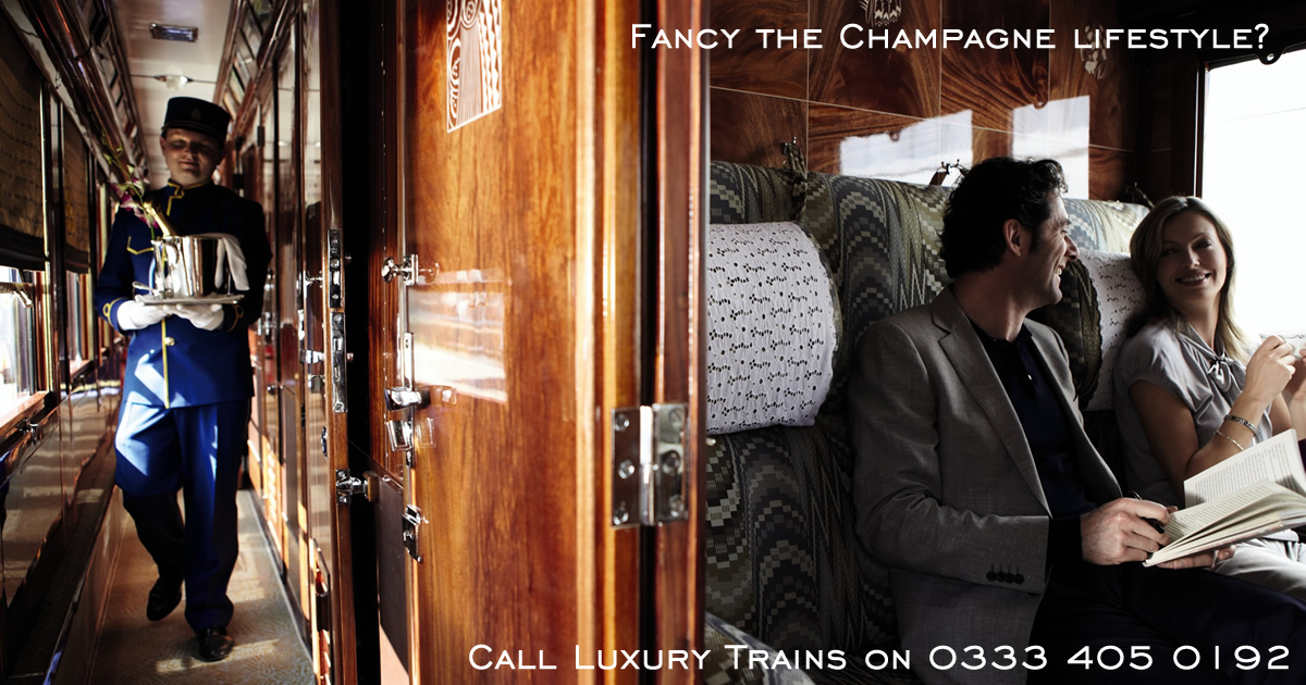 Journey on Luxury Trains throughout the World