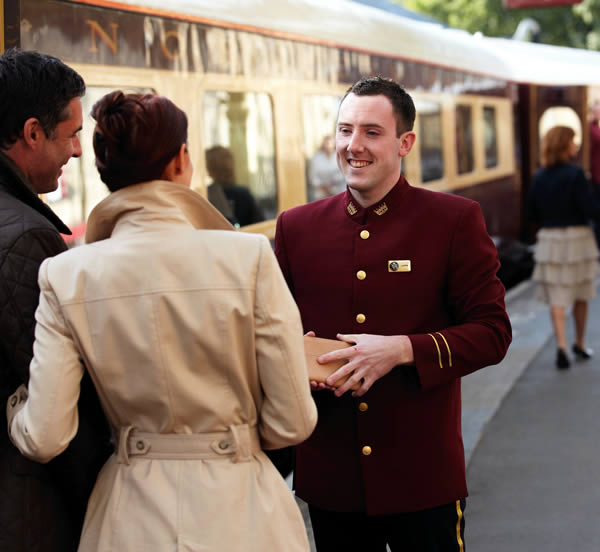 Boarding the Orient-Express Northern Belle