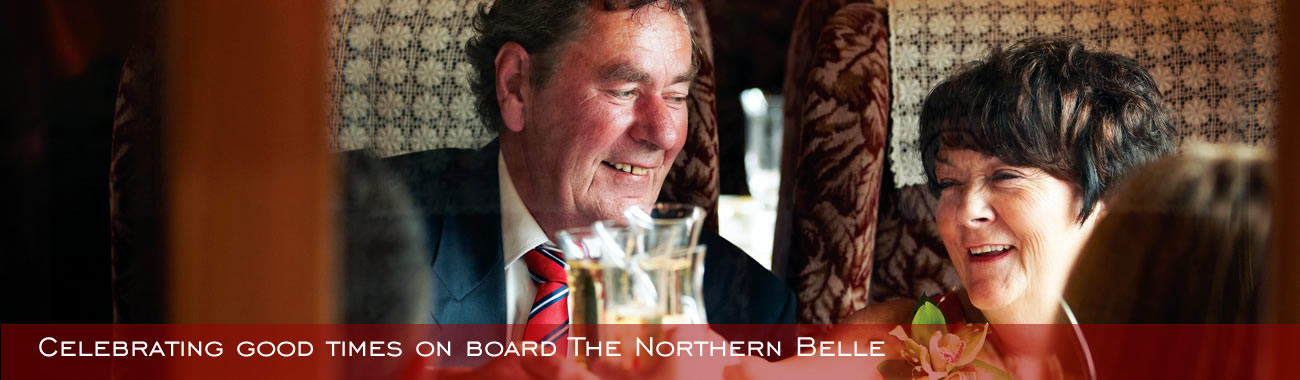 Celebrating good times on the Northern Belle
