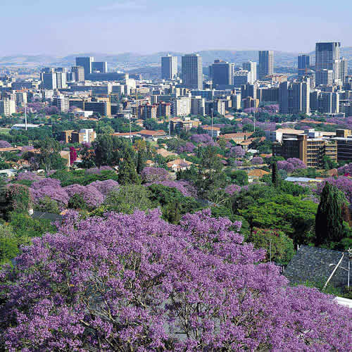 View over Pretoria