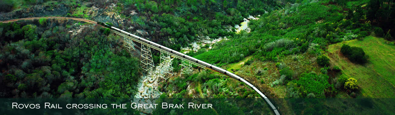Rovos Rail crossing the Great Brak River