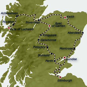 The Royal Scotsman Scotch Malt Whisky Trail