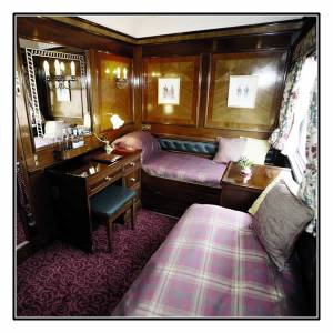 Your luxurious Royal Scotsman Cabin