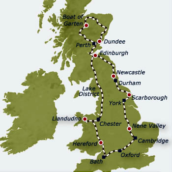 Belmond Royal Scotsman Grand Tour of Great Britain 7 nights