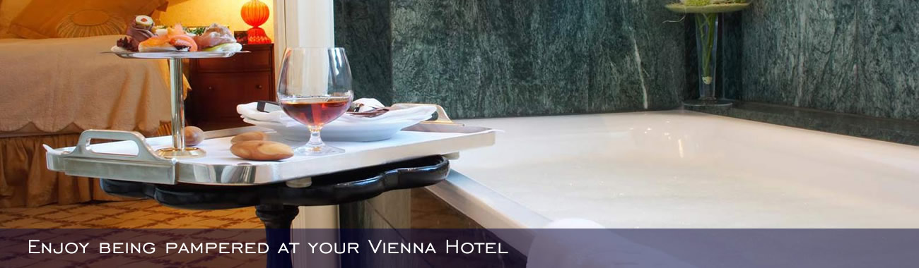 Enjoy being pampered at your Vienna Hotel