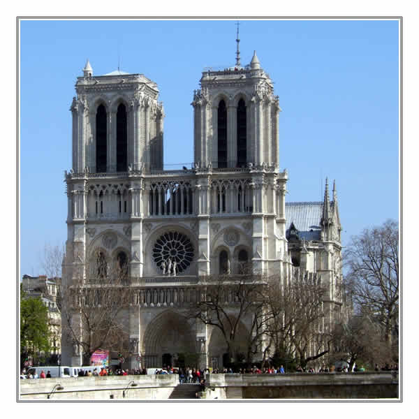 Visit the beautiful Notre-Dame Cathedral