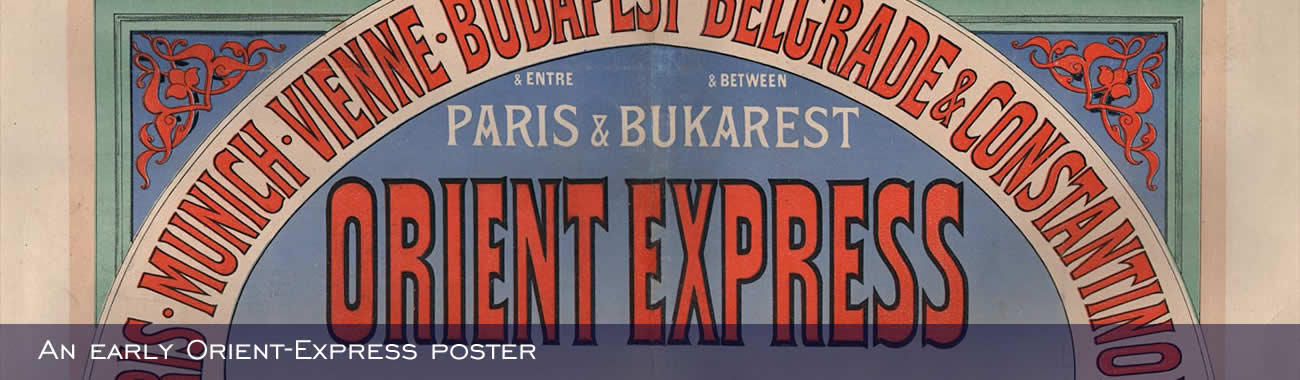 An early Orient-Express poster